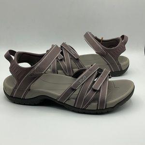 Teva Tirra Plum Truffle Hiking Sandals